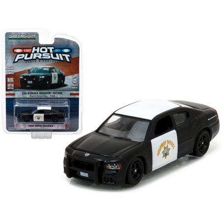 2008 Dodge Charger California Highway Patrol (CHP) 1/64 Diecast Model Car by Greenlight