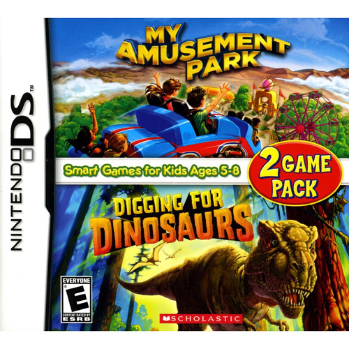 My Amusement Park and Digging for Dinosaurs Game Pack (DS)