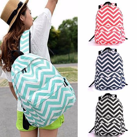 29CM Women Girl Canvas Backpack in Spanish Hiking Travel Shoulder Satchel Bag School