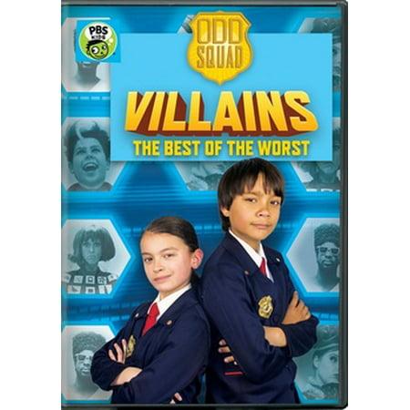 Odd Squad: Odd Squad Villains - The Best of the Worst (DVD)