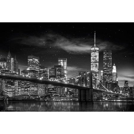 Freedom Tower New York City Skyline Poster -