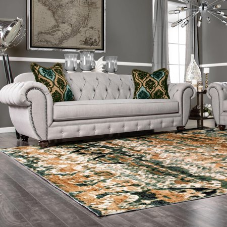 Superior High Quality Soft, Plush and Durable 10mm Moisture and Mildew Resistant Marseille Collection Area Rug, 2.7