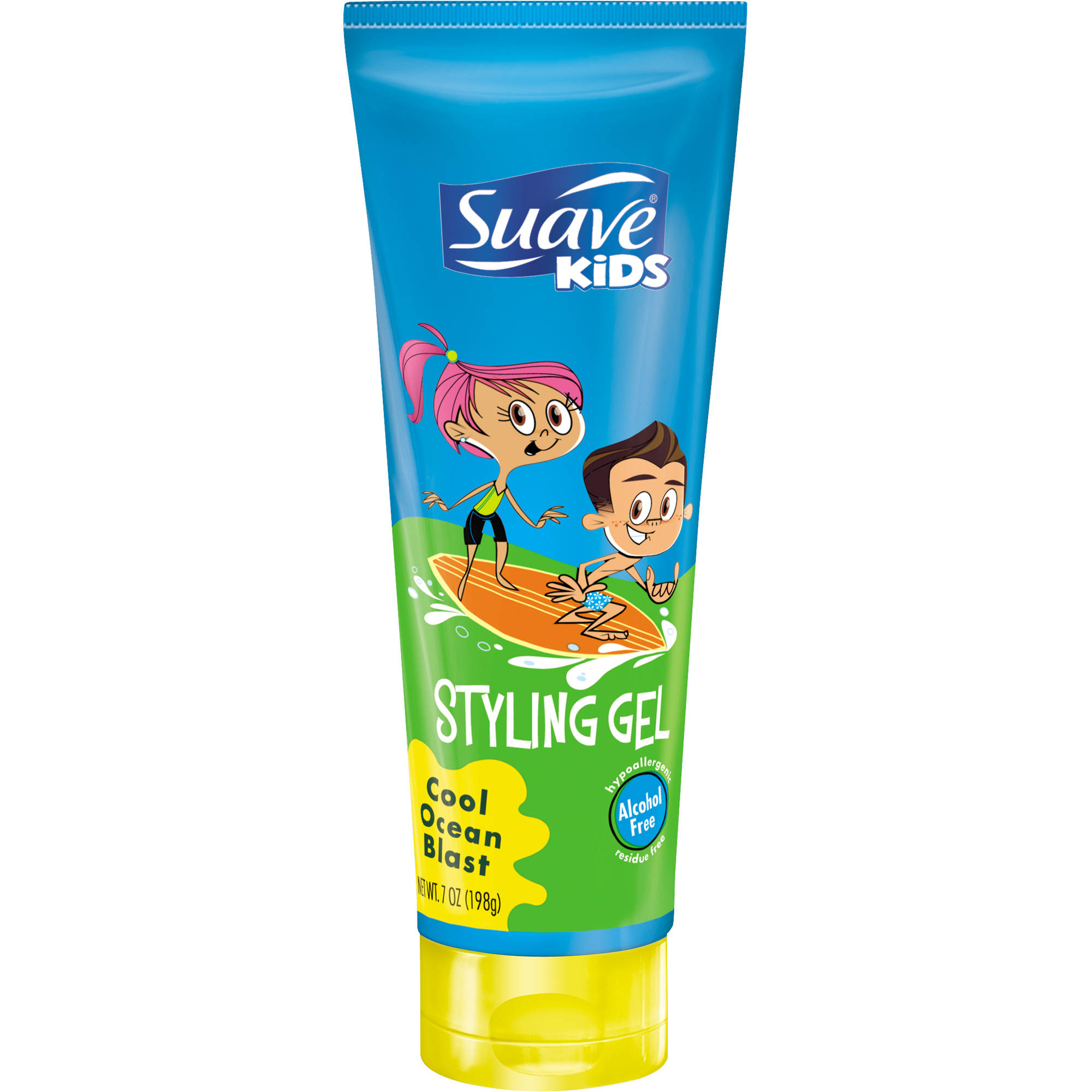 Suave Kids Cool Ocean Rush Gel, 7 oz