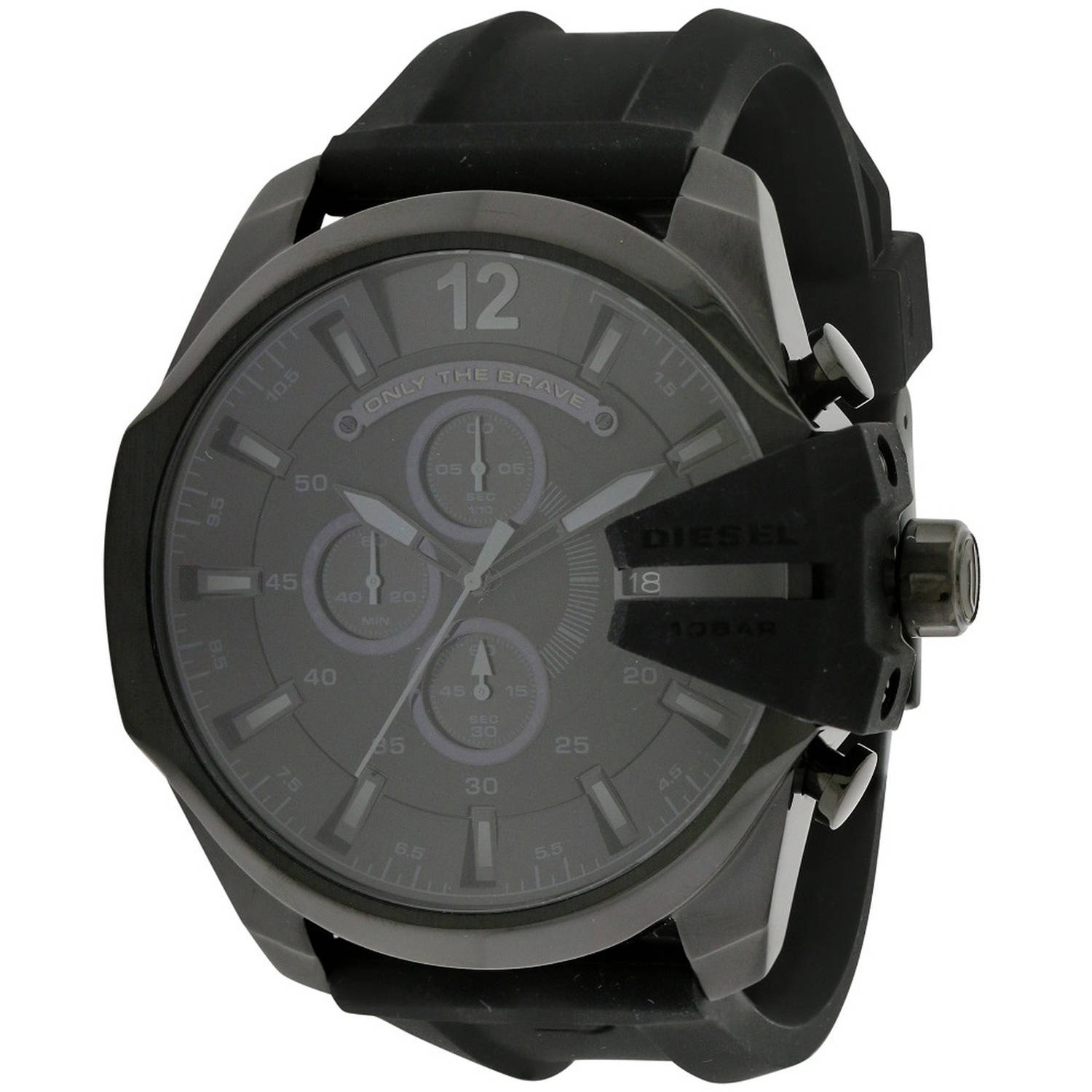 Diesel Mega Chief Silicone Chronograph Mens Watch DZ4378