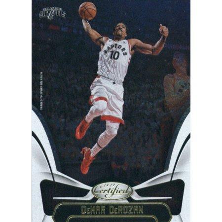 2018-19 Panini Certified #106 DeMar DeRozan San Antonio Spurs Basketball Card](Adult Arcade San Antonio)
