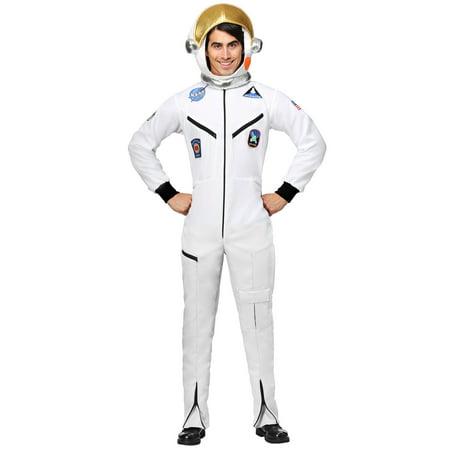 Astronaut Jumpsuit (Adult Plus Size White Astronaut Jumpsuit)