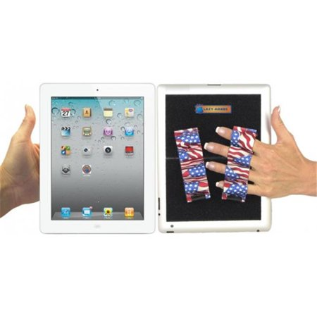 LAZY-HANDS 201311 Heavy-Duty 4-Loop X2 Grips for Tablets - Extra Large, Flags - image 1 of 1