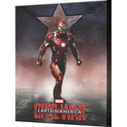 Pyramid America Captain America: Civil War Iron Man Standing Canvas Wall D cor