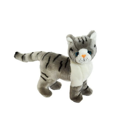 Kingdom Kuddles Grey Cat Galaxy- Plush Stuffed Animal](Cat Stuffed Animal)