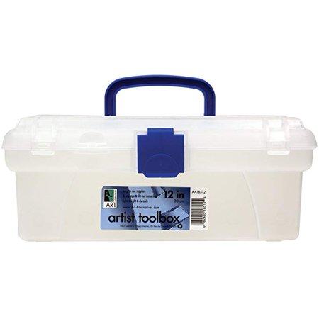 Artist Tool Box - Art Alternatives Artist Toolbox Clear 12in