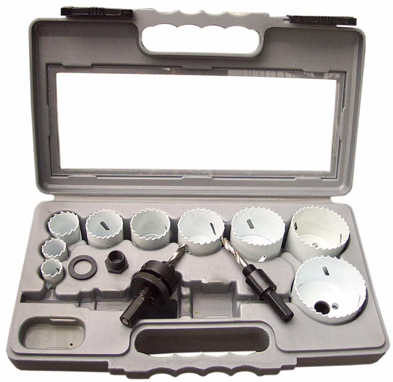 12 Piece Hole Saw Set