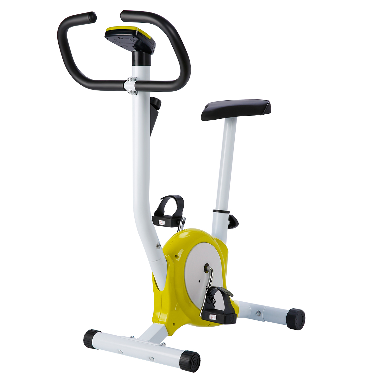 KUOKEL Durable Exercise Bicycle/Trainer Bike/Stable Upright Bike, Cardio Aerobic Equipment For Indoor & Outdoor Adjustable Seat & resistance