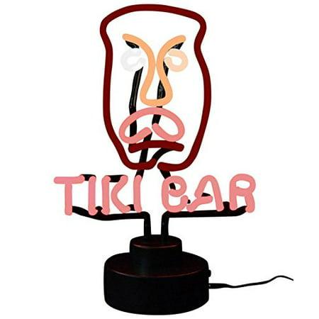Tiki Bar Neon Sculpture (Tiki Bar Neon)