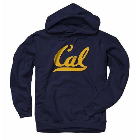 University Of California Berkeley California Golden Bears Script Cal Mens Hoodie -Navy