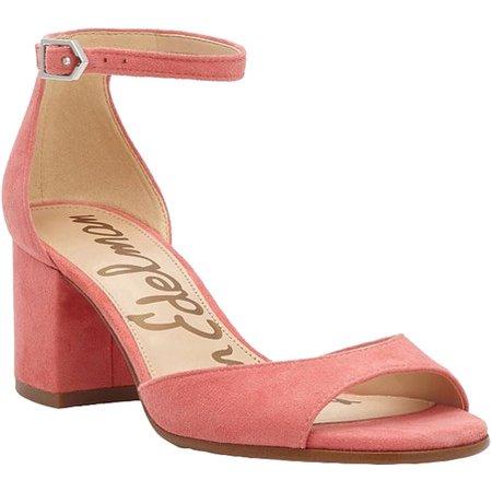 35640dbe2c526a Sam Edelman - women s sam edelman susie ankle strap sandal - Walmart.com