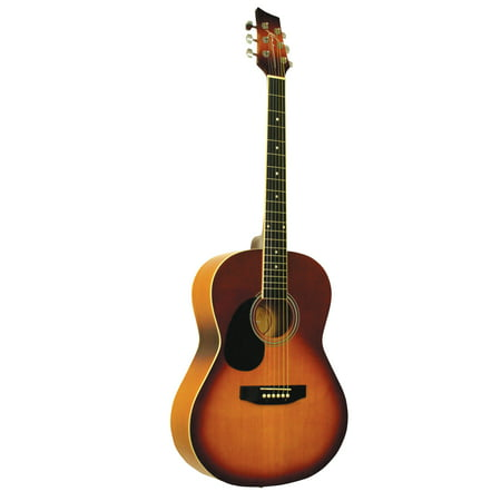 - Kona K391L-HSB Left-Handed Kona Parlor Series 39-Inch Acoustic Guitar With Spruce Top And Honeyburst Finish