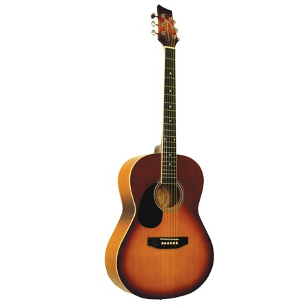 Left Handed Guitar Nut - Kona K391L-HSB Left-Handed Kona Parlor Series 39-Inch Acoustic Guitar With Spruce Top And Honeyburst Finish