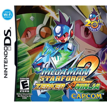Mega Man Star Force 2 Zerker X Ninja - Nintendo DS ()