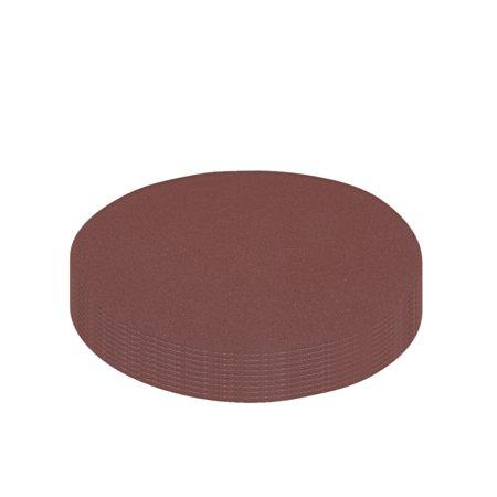 10Pc 6Po crochet boucle Disque pon age 320 Grain Papier verre Marron - image 4 de 4