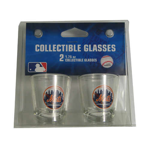Boelter Shot Glasses 2-Pack New York Mets by Boelter