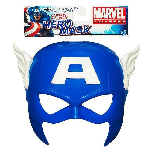 Marvel Universe Captain America Role Play Mask - Captian America Mask