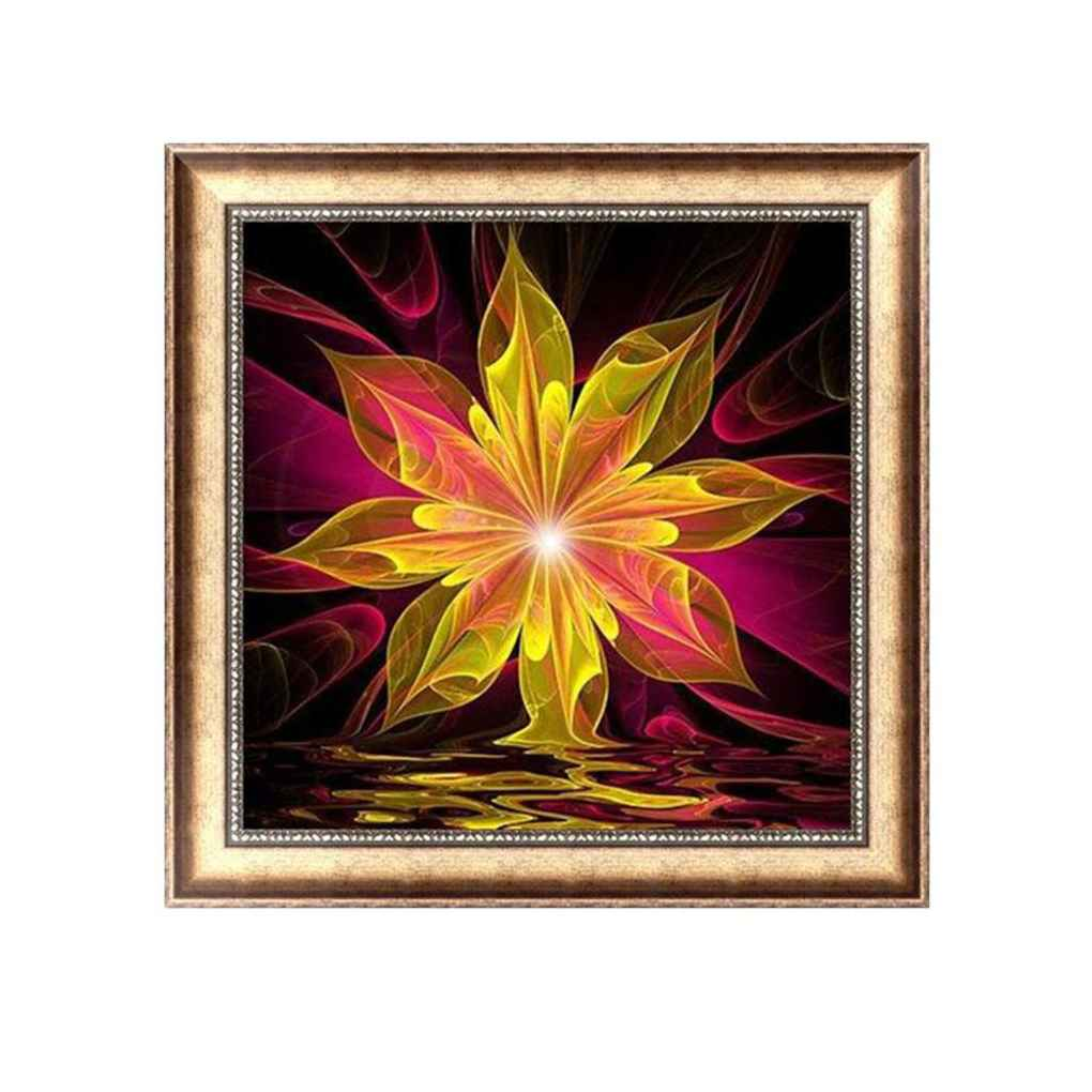 Colorful Diamond Painting Rhinestone Embroidery Needlework DIY Stitchwork Drawings Cross-stitch Pictures Office Decor