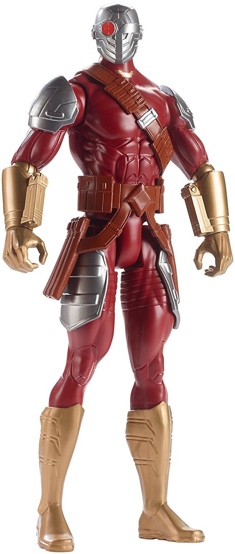 """Batman Mechs vs Mutants Deadshot Figure, Richly authentic, deluxe 12"""" Deadshot figure... by"""