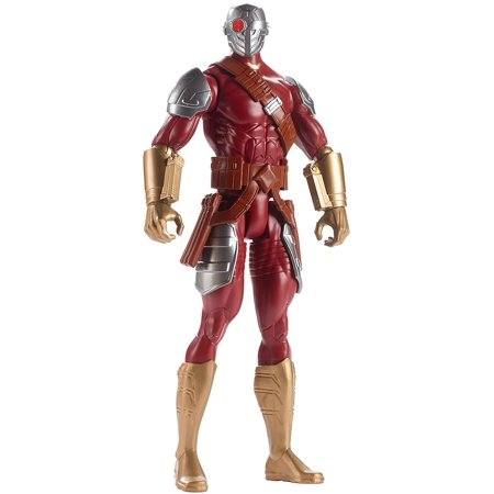 "Batman Mechs vs Mutants Deadshot Figure, Richly authentic, deluxe 12"" Deadshot figure inspired by the new Suicide Squad movie By Mattel"