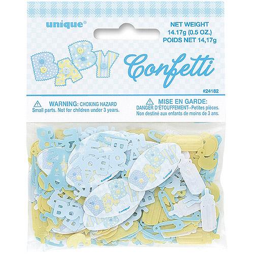 Blue Stitching Baby Shower Confetti