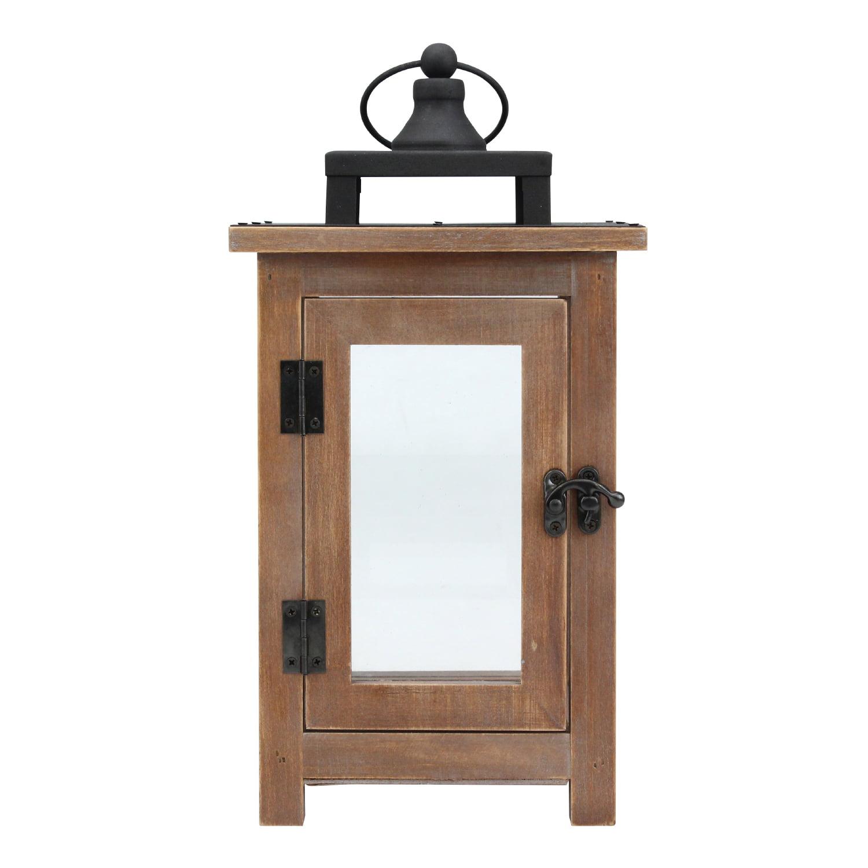 Better Homes & Gardens Wood Lantern Med