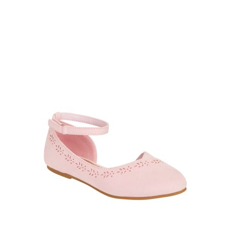 Wonder Nation Girls' Casual Cut Out Flat](Flats For Girls)