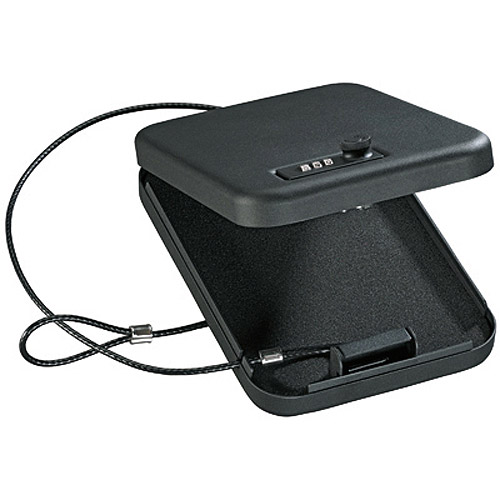 Stack-On Portable Case with Combination Lock PC-95C Black