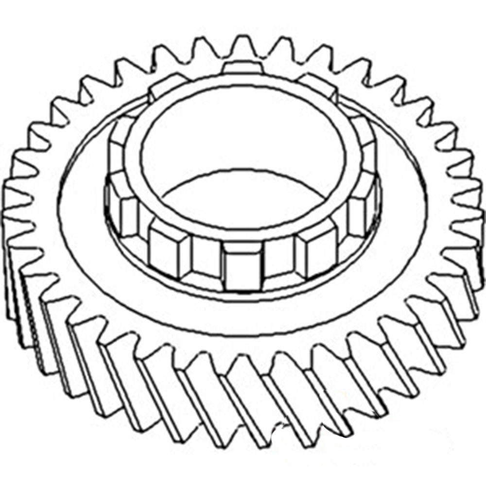 70232408 New 2nd Mainshaft Gear (10 teeth) Made To Fit