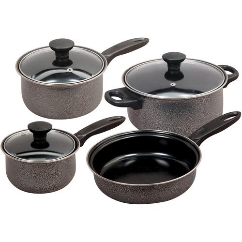 Gibson Home Dothan 7 Piece Cookware Set,
