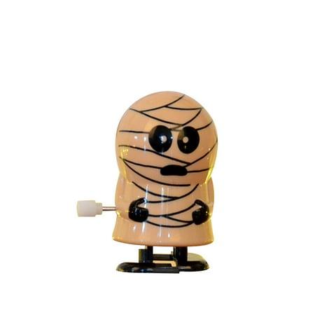 Monster Mud Halloween Props (Halloween Clockwork Gift Wind Up Bounce Toy Props Toy Jumping Pumpkin)
