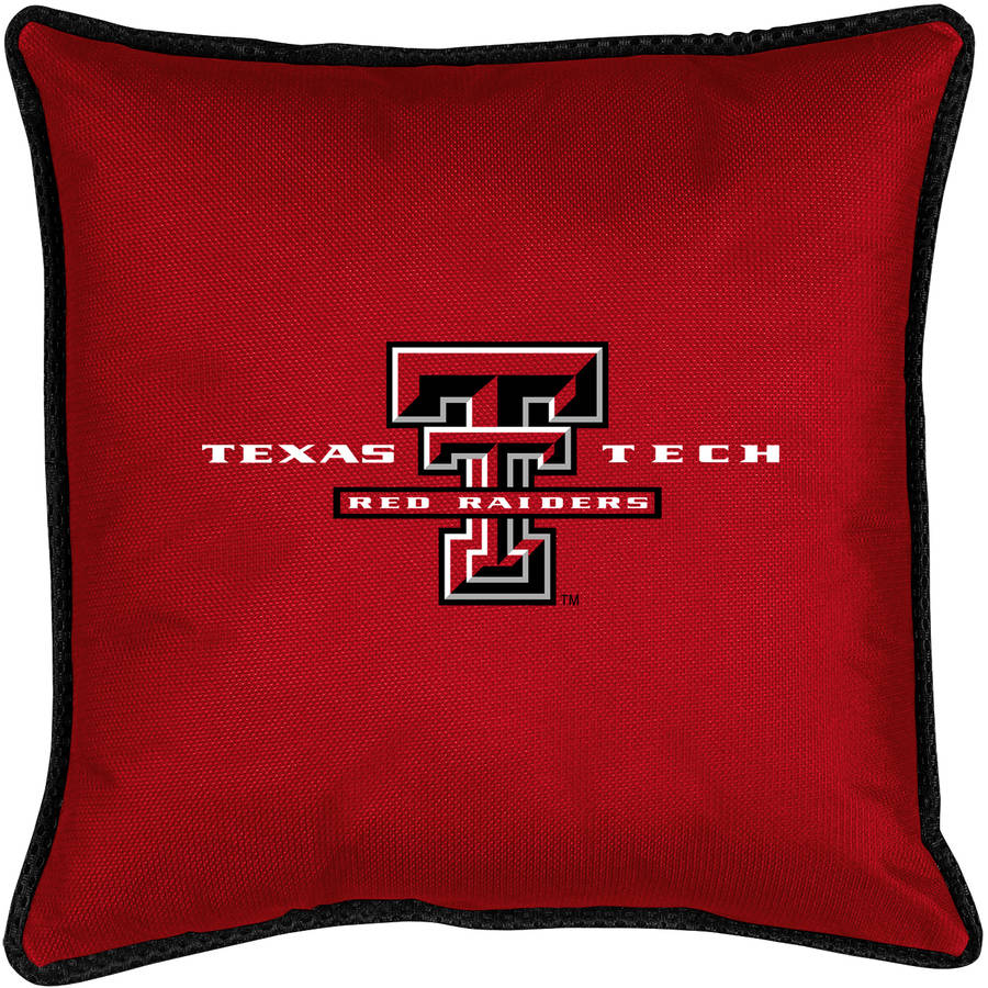 NCAA Texas Tech University Sidelines Toss Pillow