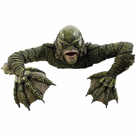 Creature from the Black Lagoon Grave Walker Halloween Decoration - Grave Halloween Full