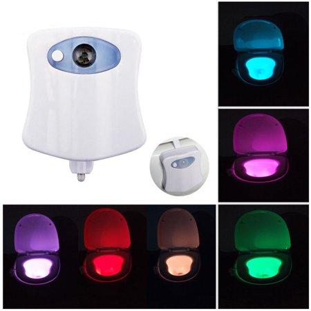 Toilet Night Light Led Motion Activated Sensor Bathroom Illumibowl Seat