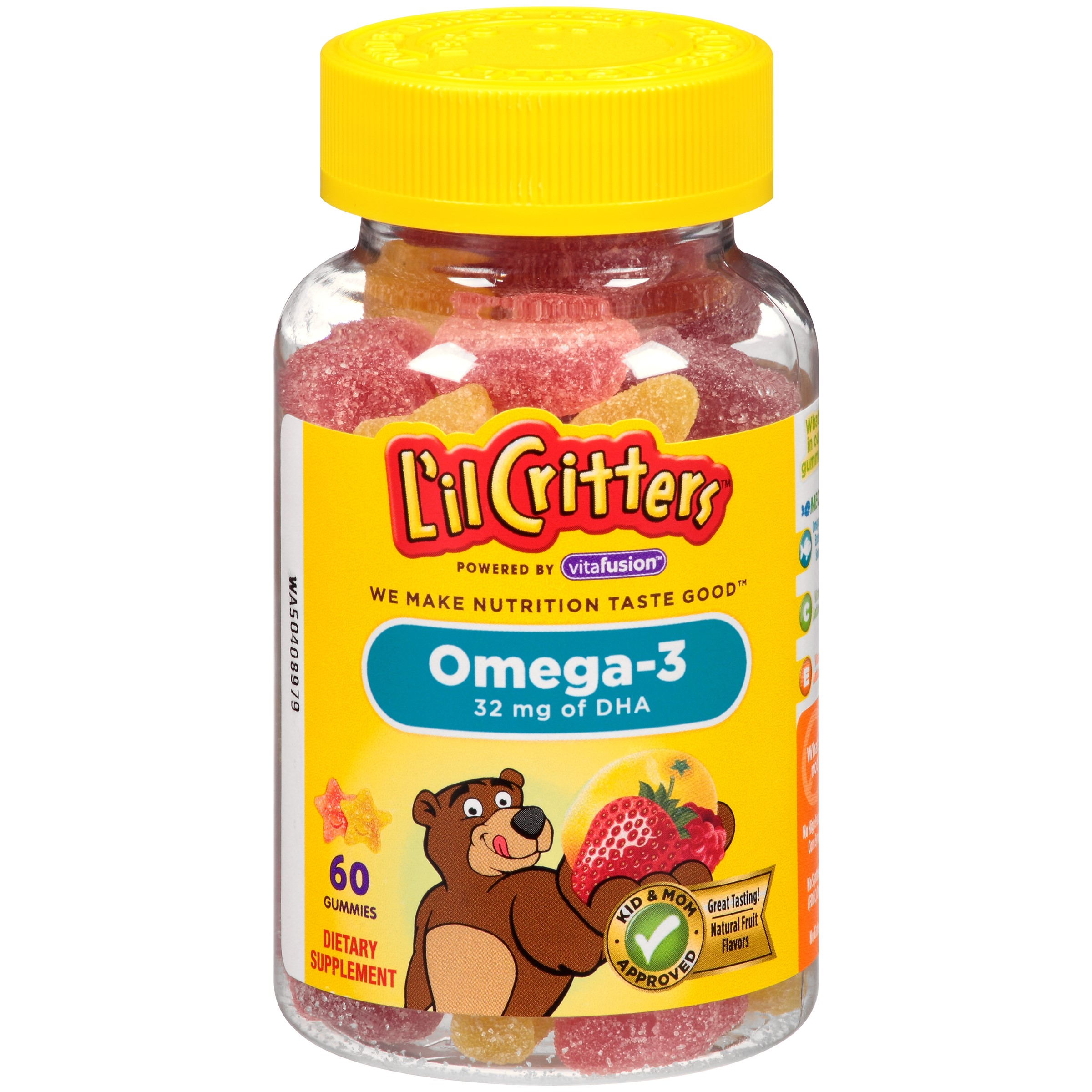 L'il Critters Omega-3 DHA, 60 Count