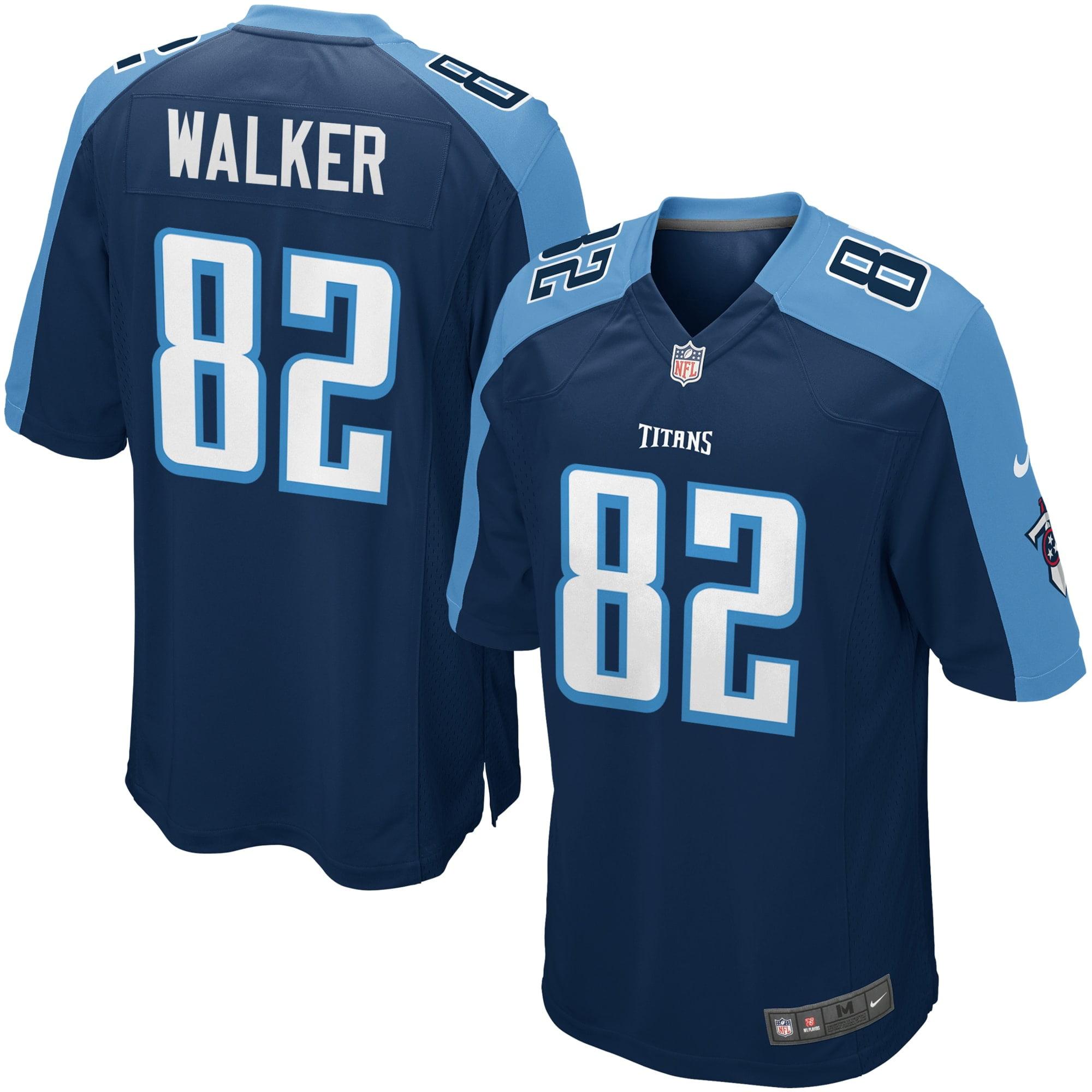 Delanie Walker Tennessee Titans Nike Youth Alternate Game Jersey - Navy Blue - Walmart.com