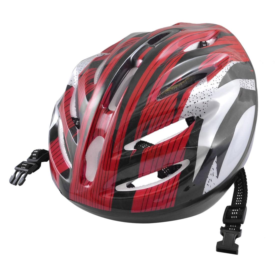 Women Men Skateboard Skiing Racing Bicycle Bike Sports Helmet Red Gray Black by