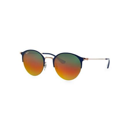 RB3578 51MM Gradient Mirrored Round Sunglasses ()