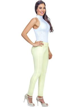 Lowla 217205 Mid Rise Skinny Butt Lifting Colombian Jeans Pantalones Levanta Cola