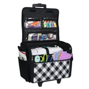 Best Premier Rolling Machines - Everything Mary Rolling Sewing Machine Tote, Buffalo Check Review