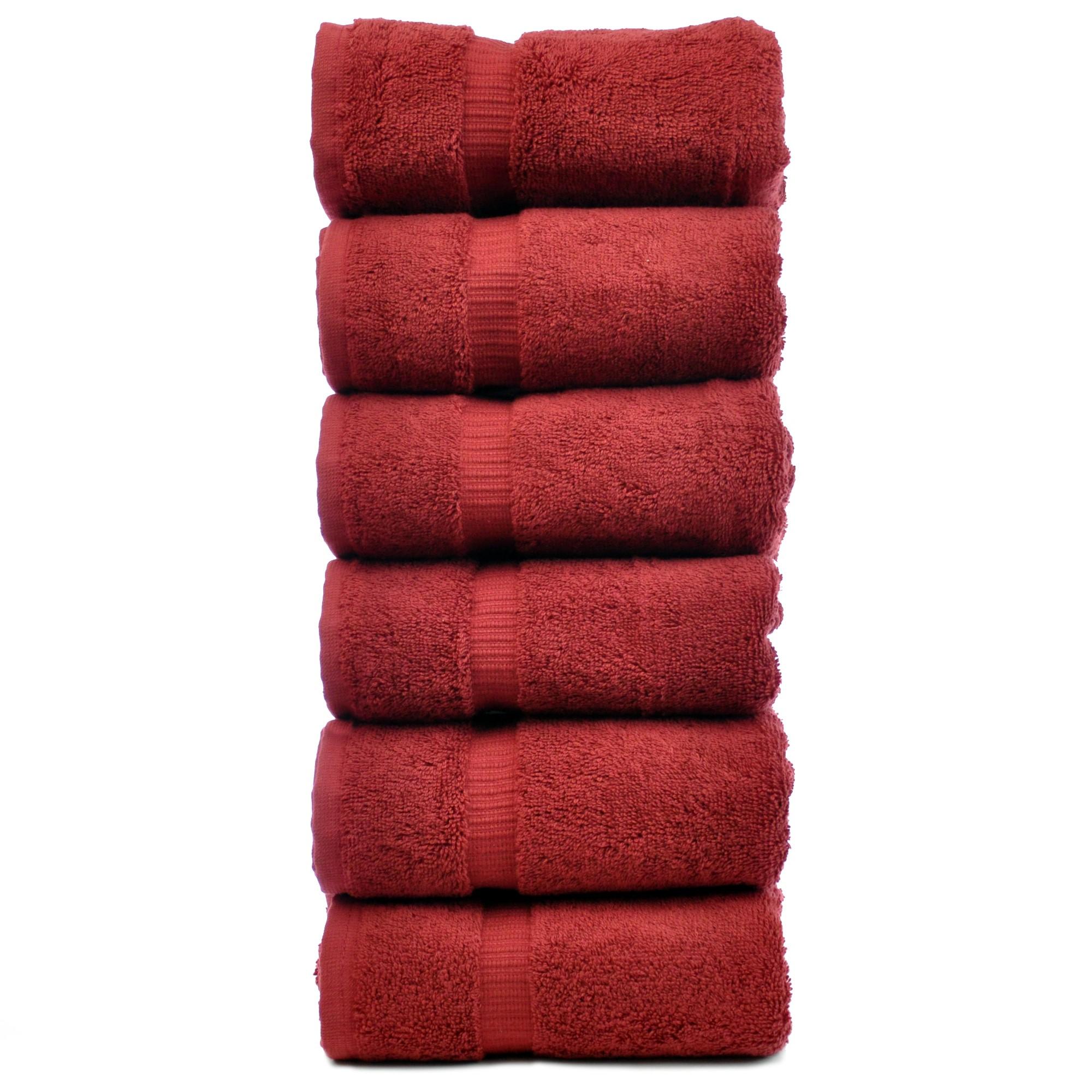 Chakir Linen Dobby Border Turkish Cotton Hand Towel Set