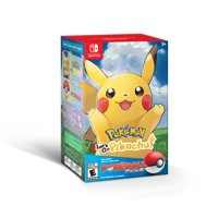Pokemon: Let's Go, Pikachu! w/ Poke Ball, Nintendo, Nintendo Switch, 045496594008