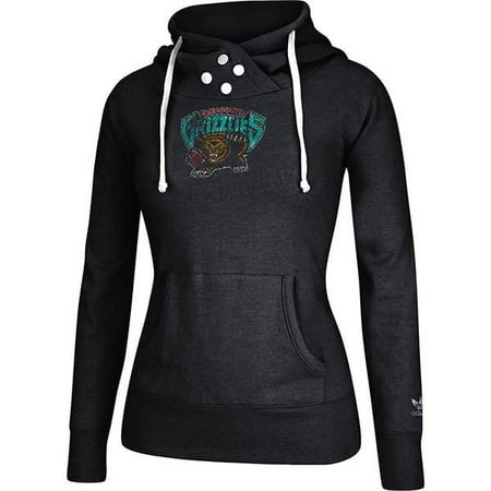 Vancouver Grizzlies NBA Adidas Women's Black Originals Pullover Fleece