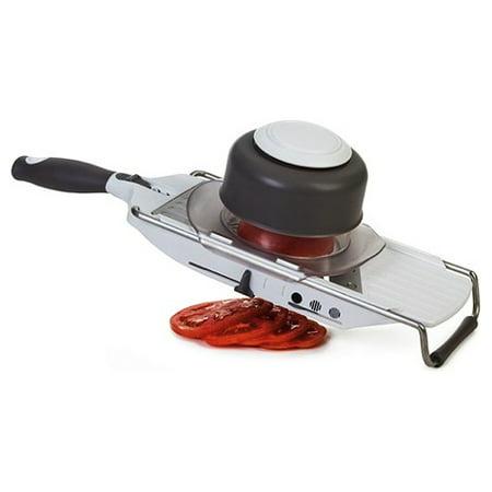 Progressive PL8 Stainless Steel 14.5 Inch Gourmet Mandoline Slicer