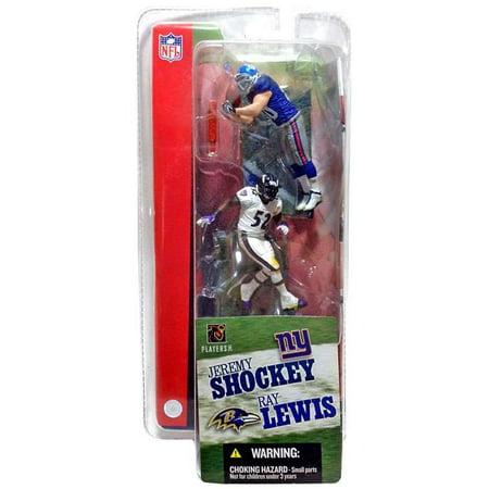 Jeremy Shockey Football (Jeremy Shockey & Ray Lewis Mini Figure 2-Pack 2-Pack NFL )