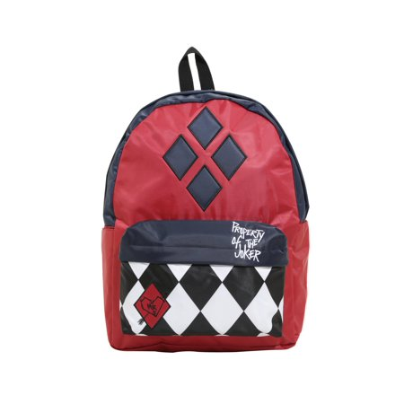 - DC Comics Suicide Squad Harley Quinn Property Of The Joker Backpack